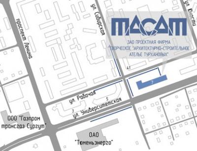 """До.  Сургут и Сургутский район, Сургут, Университетская ул., 17.  Адрес  """"Университетская ул., 17 """" на карте Яндекса."""