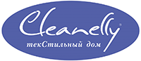 Логотип Cleanelly - текстильный дом